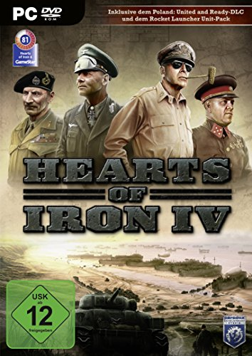 Hearts Of Iron IV [Importación Alemana]
