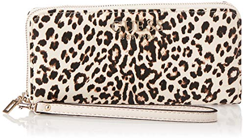 Guess Lorenna SLG Large Zip Around Leopard