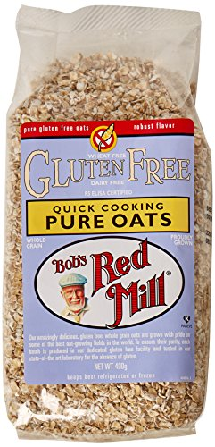 Bob's Red Mill Natural Foods Gluten Free Quick Cooking Oats 400 g (Pack of...