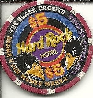 $5 hard rock hotel the black crowes las vegas casino chip