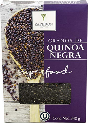 Zaphron Gourmet Quinoa Negra, 340 g