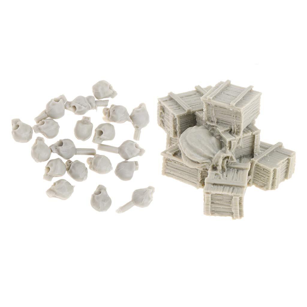 1/35 Mini Modelos de Resinas Cráneos Caja para Escena de Combate Juego Herramienta de Artesanía de Costura: Amazon.es: Juguetes y juegos