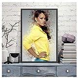 DNJKSA Rihanna Poster Music Singer Hip Hop Art Painting