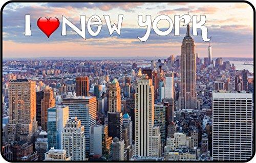 Cadora Magnetschild Kühlschrankmagnet I love New York II