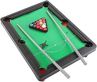 El Juego de Billar Mini Tabletop Pool Set Incluye Bolas de Juego ...