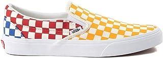 [バンズ] 靴?シューズ スニーカー Slip On Color-Block Chex Skate Shoe [並行輸入品]