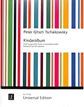 Tschaikowsky 9783702475963 - Álbum para niños (12 unidades, para cinco tiras, edición universal, UE37218 y 9783702475963)