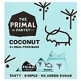 The Primal Pantry Barritas Energeticas (48 x 30g) - sin azúcar añadido, sin gluten, 100% Natural, Vegano, Paleo (Coco)
