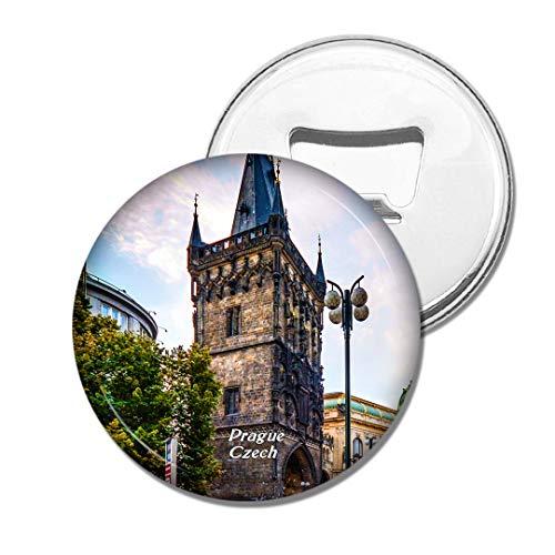 Weekino Tschechischer Pulverturm Prag Bier Flaschenöffner Kühlschrank Magnet Metall Souvenir Reise Gift
