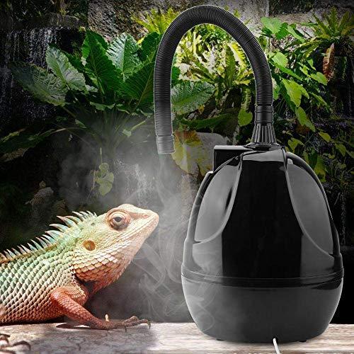 Haolv Humidificador De Reptiles, Nebulizador De Reptiles con Tubo De Extensión, Adecuado para Reptiles, Anfibios Y Terrarios (Tanque De 2.5 litros)