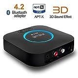 REIIE B06Récepteur Bluetooth pour son HDRécepteur sans fil de grande qualité pour son en streaming compatible son surround...