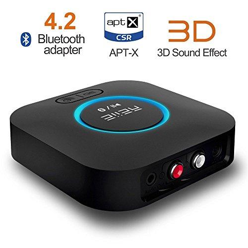1mii Receptor Bluetooth, Adaptador de Audio Inalámbrico Hi-Fi, B06 Adaptador...