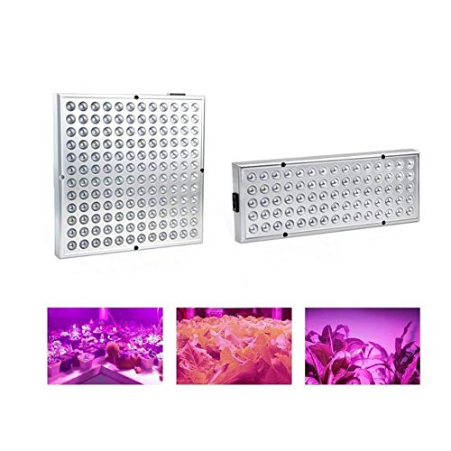 DealMux Lámpara de crecimiento de plantas 25W 45W LED Luz de relleno interior de espectro completo Lámpara LED de crecimiento de invernadero (Tamaño: 25W-75LED-English)