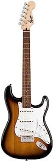 Best Squier by Fender Stratocaster Beginner Pack, Laurel Fingerboard, Brown Sunburst, with Gig Bag, Amp, Strap, Cable, Picks, and Fender Play Review