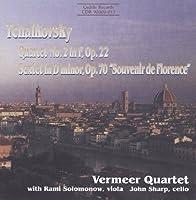 チャイコフスキー:弦楽四重奏曲第2番/弦楽六重奏曲「フィレンツェの思い出」 (Tchaikovsky: Quartet no 2, Sextet)