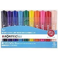 マジック 水性ペン アクアテック 10色 MAQ50C-10