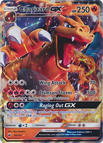 Pokemon Charizard-GX - 20/147 - Ultra Rare