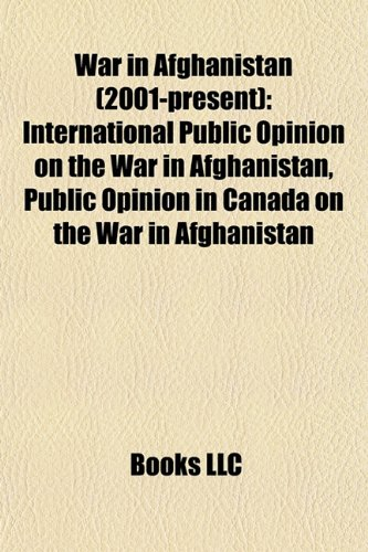 War in Afghanistan (2001-present): International public opinion on the war in Afghanistan, Public opinion in Canada on the war in Afghanistan: ... Drone attacks in Pakistan, Targeted killing