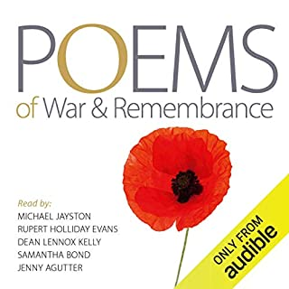Poems of War and Remembrance                   Di:                                                                                                                                 Audible Studios                               Letto da:                                                                                                                                 Jenny Agutter,                                                                                        Samanatha Bond,                                                                                        Rupert Holliday Evans,                   e altri                 Durata:  1 ora e 16 min     Non sono ancora presenti recensioni clienti     Totali 0,0