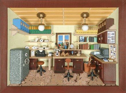 3D mantiburi - ufficio velato 30 x 22 cm