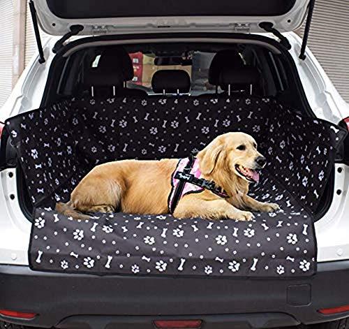 PETEMOO Tappeto Auto per Cani, Copertura Universale per Bagagliaio Protezione Portabagagli Copri Baule Auto per Cani Tappetino Protezione Tappeto Auto
