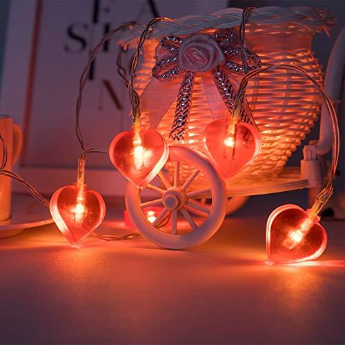 LoveLeiter rotes Herz Licht Valentinstag...
