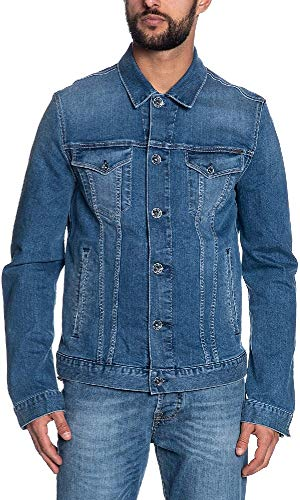 Gas Jeans Oklahoma Rs/8 Giacca in Jeans, Blu (Wk22), X-Small (Taglia Produttore:44) Uomo
