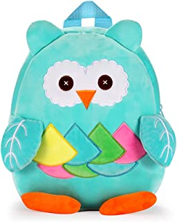 Cute Toddler Backpack Stuffed Cartoon Animal Mini Schoolbag For 1-5 Year Old Boys And Girls