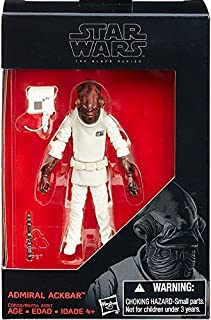 Star Wars 2016 The Black Series Admiral Ackbar Exclusive Action Figure 3.75 Inches