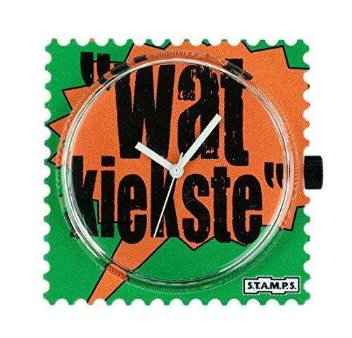 Stamps Uhr - Zifferblatt Wat Kiekste - S.T.A.M.P.S. Uhren 100053