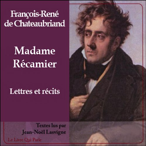Madame Récamier audiobook cover art