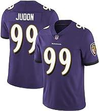 Camiseta de fútbol americano, camiseta de manga corta, diseño mate de la selección del 99 del equipo de fútbol americano, tejido de rugby, de secado rápido, para deporte