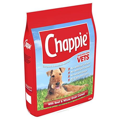 Mars Petcare UK Chappie Hundefutter, für ausgewachsene Hunde, mit Rindfleisch und Körnern