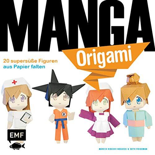Manga-Origami: 20 supersüße Figuren aus Papier falten