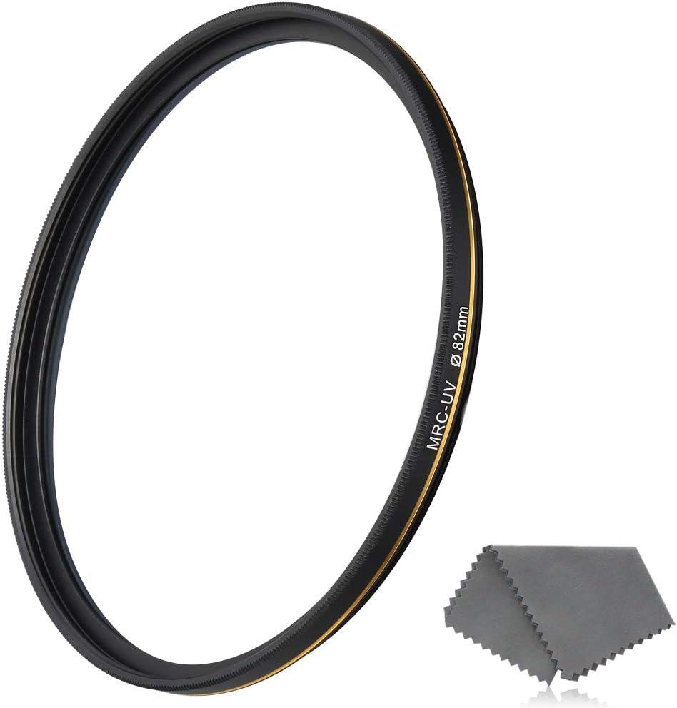 LENSKINS Rare 82mm UV Protective Filter Multi-Resistant 16-Layer Nan Ranking TOP15