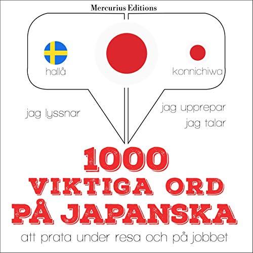 1000 viktiga ord på japanska Titelbild