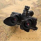 WYJ Amplificador Monocromático HD de Visión Nocturna para Caza Al Aire Libre; Binocular Goggles HD Infrared Night Vision Records Thermal Imager Trail Monocular