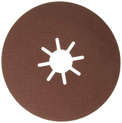 Bosch 2 608 605 468 - Disco lijador de fibra para amoladora angular, corindón (115 mm, 22 mm, 100)