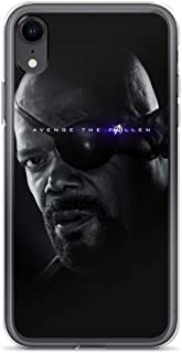 iPhone 7/8 Pure Clear Case Cases Cover Nick Fury Captain l Avengerss Superheros Shield Agents Leader Comic