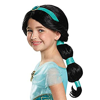 Disney Princess Jasmine Girls  Wig