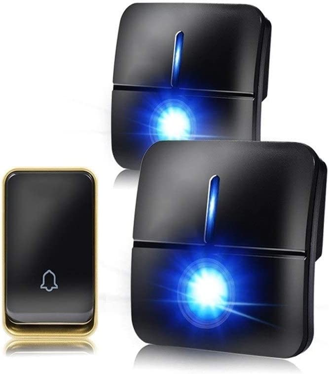 ZXJTX Waterproof Wireless Ranking TOP9 Doorbell Does Not Tulsa Mall Require Remo Battery