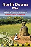 North Downs Way: Farnham to Dover - includes 80 Large-Scale Walking Maps & Guides to 45 Towns and Villages - Planning, Places to Stay, Places to Eat (British Walking Guides)