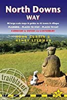 Trailblazer North Downs Way: Farnham to Dover via Canterbury: 84 Large-Scale Maps & Guides to 44 Towns and Villages; Planning, Places to Stay, Places to Eat (Trailblazer British Walking Guides)