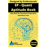 EP Quant Aptitude Book: Best book for placement preparation with mock tests (English Edition)