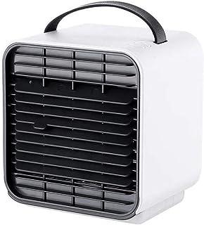 ZXYY Refrigerador de Aire Humidificador de Escritorio portátil Mini acondicionador de Aire Ventilador Ion Negativo Refrigerador de Espacio Personal 150 ml