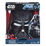 Star Wars SW Movie E7 Mascara electrónica Darth Vader, Multicolor, única (Hasbro...