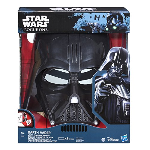 Star Wars SW Movie E7 Mascara electrónica Darth Vader, Multicolor, única (Hasbro C0367EU4)