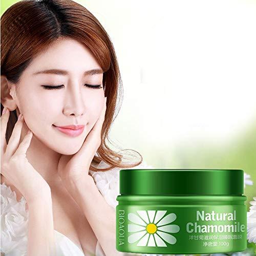 BIOAQUA Marca Mascarilla de manzanilla Esencia Anti Age Dormir Máscara Hidratante Cuidado de la Piel Noche Whitening Crema Hidratante Máscara