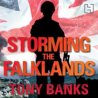 Storming the Falklands cover art