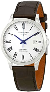 Longines Record Automatic White Dial Men's Watch L28204112
